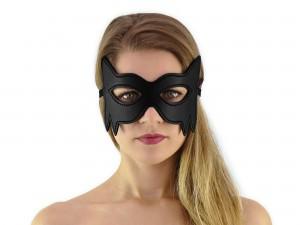Augenmaske Fantasy Cat Maske schwarz