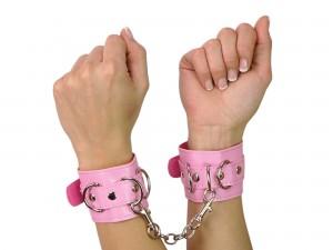 Handfesseln pink