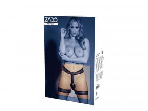 Zado Keuschheitsgürtel für Frauen aus Leder