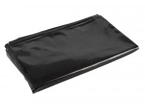 Fetisch Collection Lack-Bettdecke schwarz 135 x 200 cm