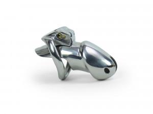 Holy Steel 2 Standard - Peniskäfig KG aus Edelstahl 40mm Burgwächter Lock