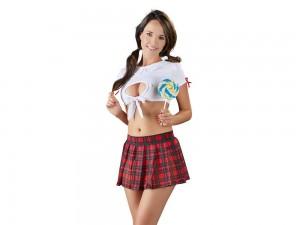 Cottelli Costumes Schulmädchen Kostüm Gr. S, M, L und XL