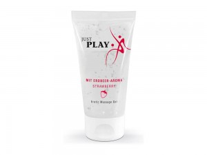 Just Play Erdbeere 50 ml Massage Gel