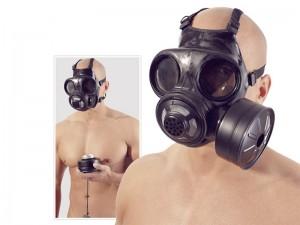 Latex Gasmaske, Latex-Maske