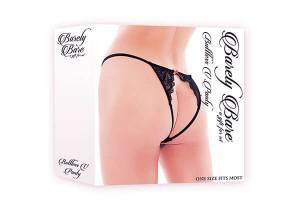 Barely Bare Buttless V Panty Gr. S-L