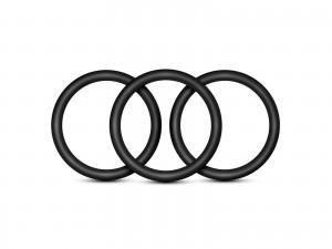 Performance VS3 Ringe schwarz 3tlg. large