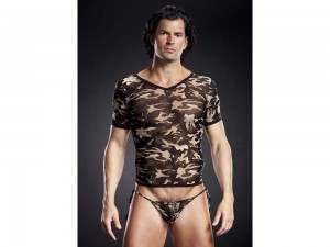 T-Shirt S/M in camouflage