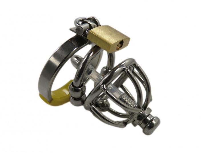 Ring Cage XXS Steel V2, mini Peniskäfig Edelstahl