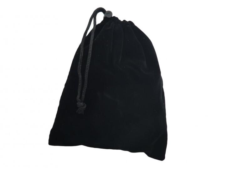 Samtbeutel schwarz Toybag
