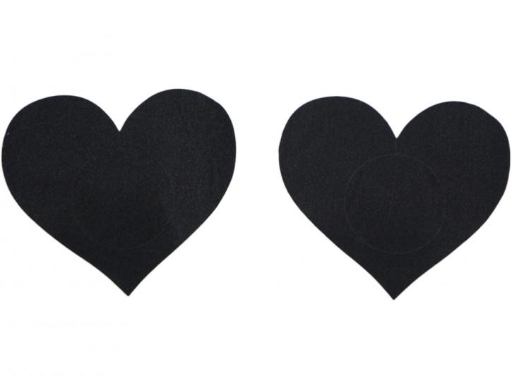 Satin Nippelschmuck in Herzform