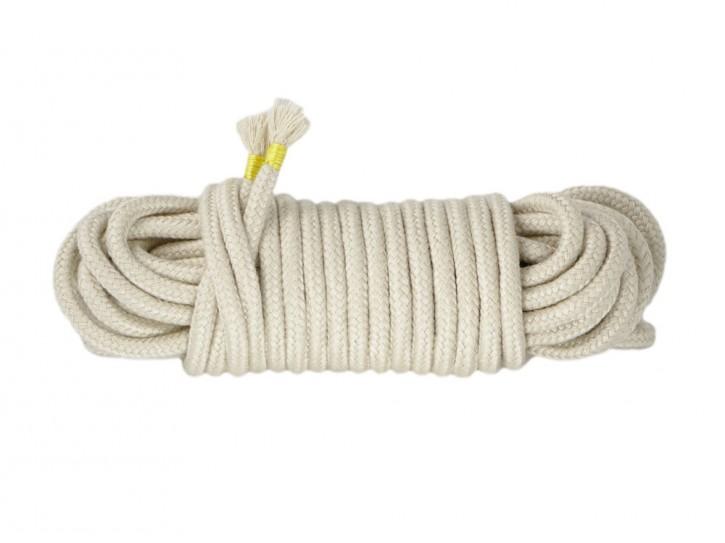 10m Bondage-Seil Baumwolle beige