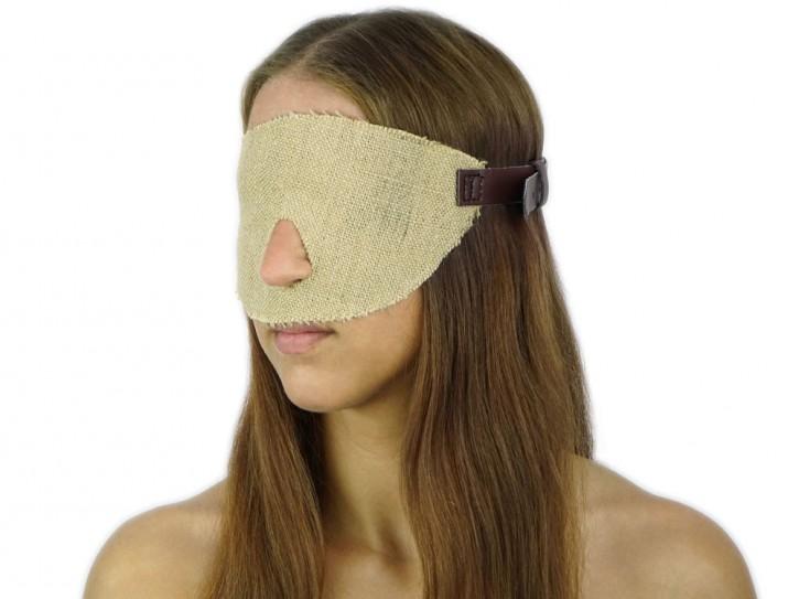 Extrem Gangbang Blindfold Augenbinde Jute