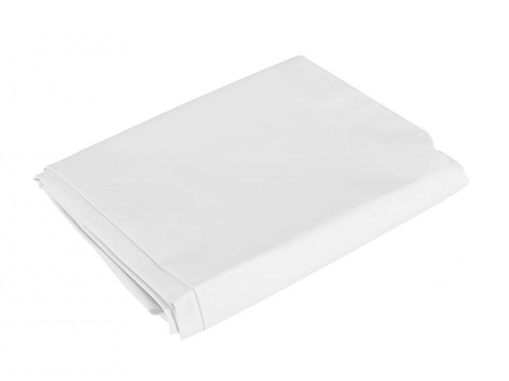Lack Bettlaken weiß 200 x 230 cm
