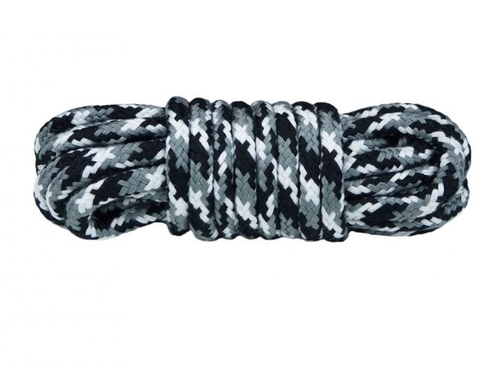 5 m Bondage-Seil Baumwolle Schnee Camo