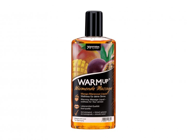 Warm-up Massageöl Mango+Maracuja 150ml