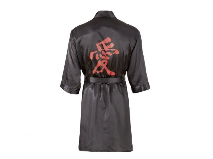 Herren Satin-Kimono Gr. L/XL