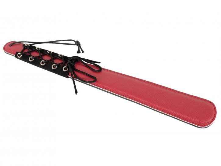 Bad Kitty Paddel mit Zierschnürung rot