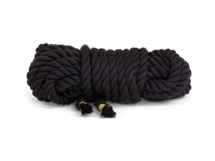 5 m Twisted Rope schwarz