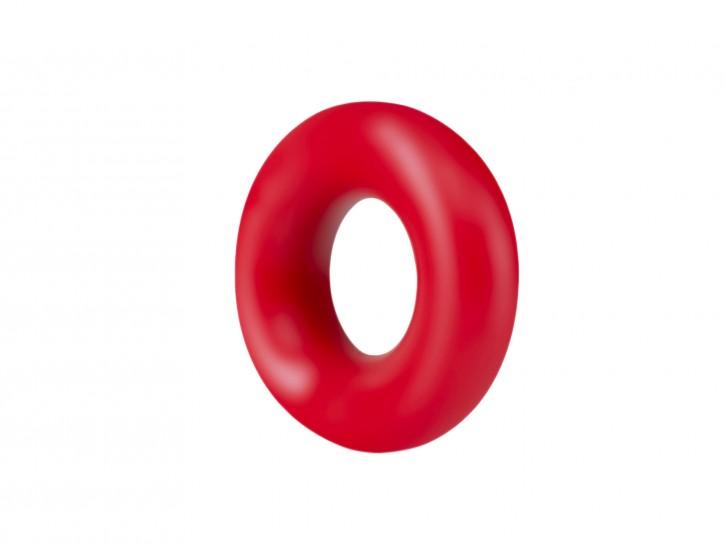 Stay Hard Donut Rings rot 2er Set
