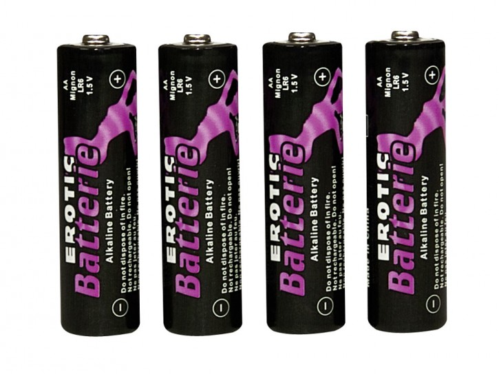 AA Batterien, Erotic Battery 4er