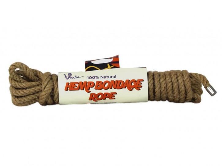 Voodoo 5 Meter Bondage Hanfseil 5mm