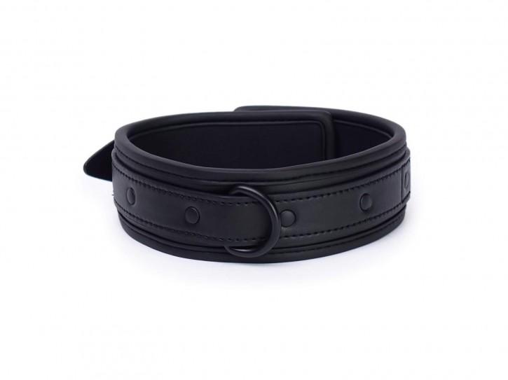 Neopren Halsband midnight black