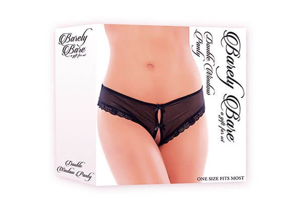 Barely Bare Double Window Panty Gr. S-L