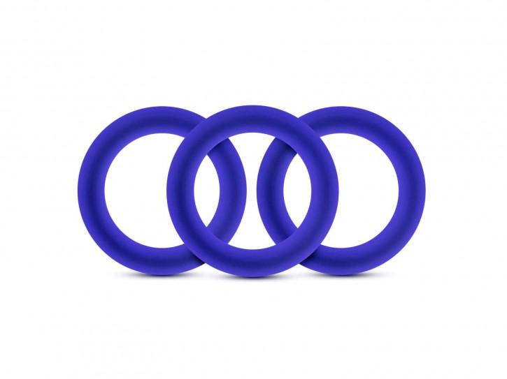 Performance VS2 Ringe blau 3tlg. small