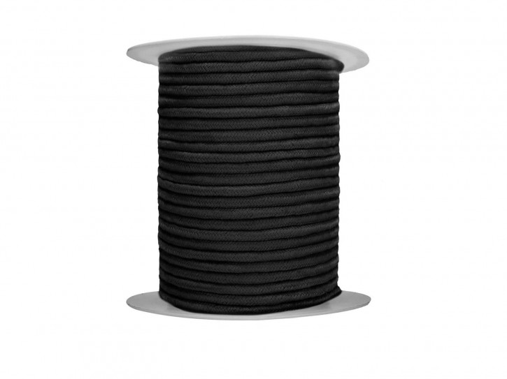 Bondage-Seil 100 Meter Rolle schwarz