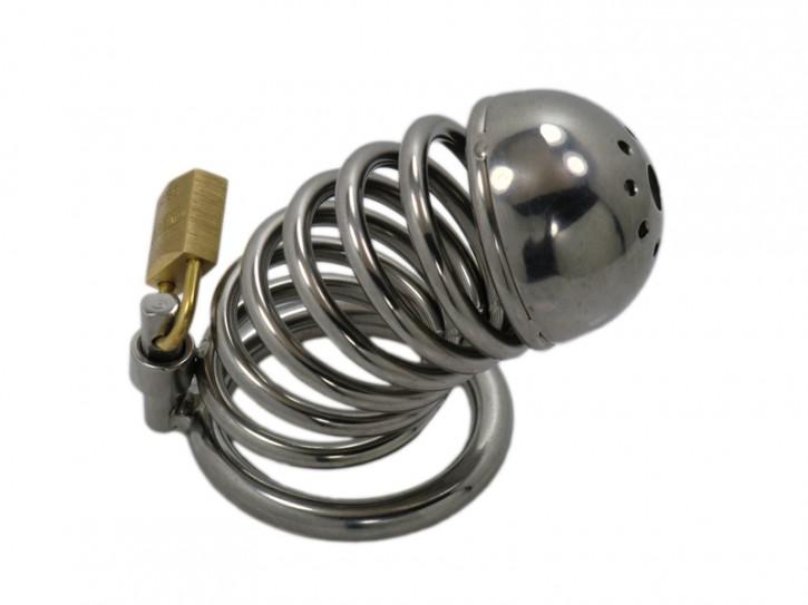 """""""Ring CB Steel L"""" großer Edelstahl Peniskäfig"""