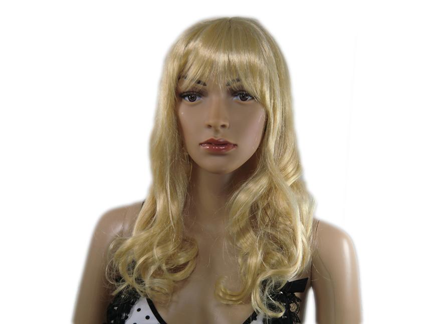 Perücke blond lockig