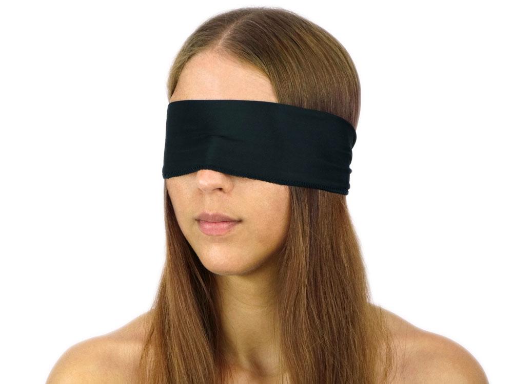 Augenbinde Bondage Schal aus elastischem Stoff
