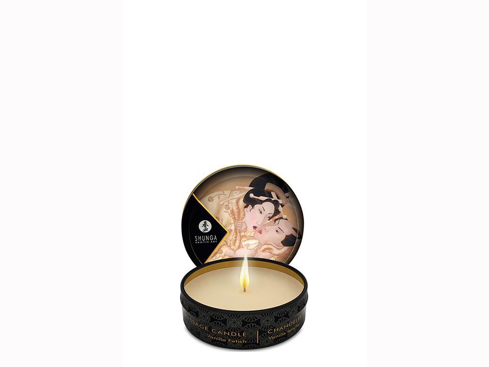 Shunga Massage Kerze Vanille