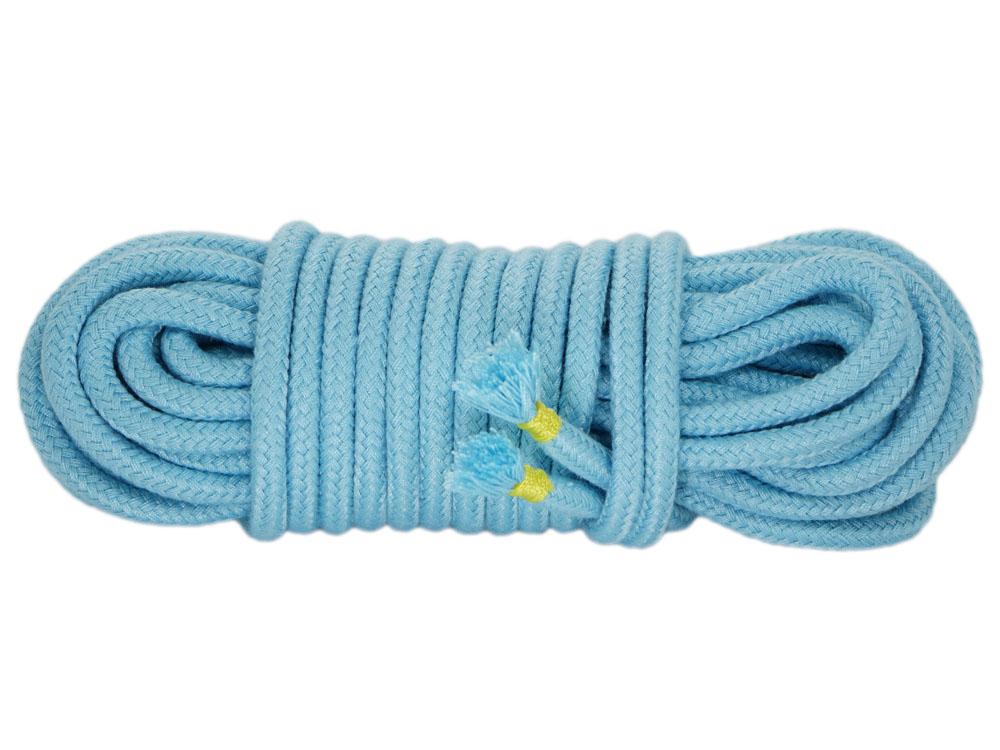 10m Bondageseil Babyblau
