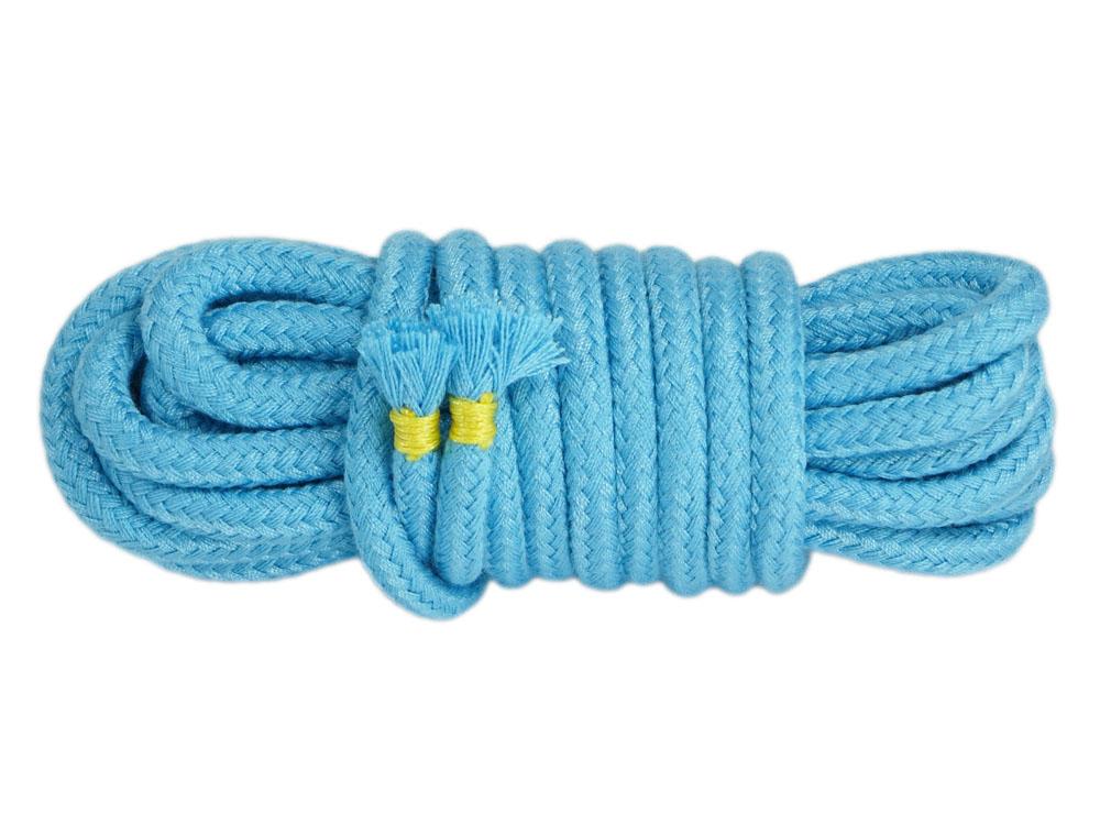 5 m Bondage-Seil Baumwolle Türkis