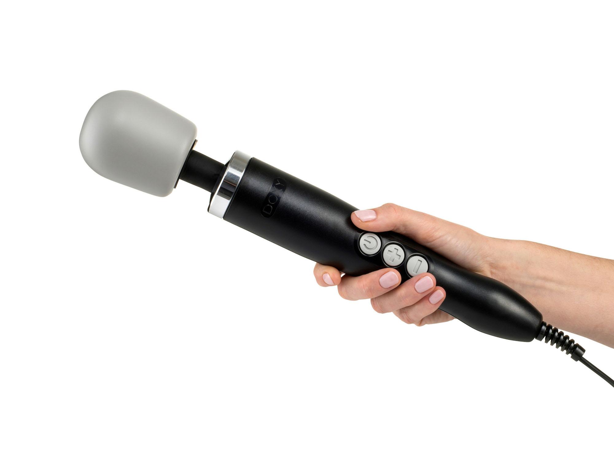 DOXY Wand Massager Black 34 cm