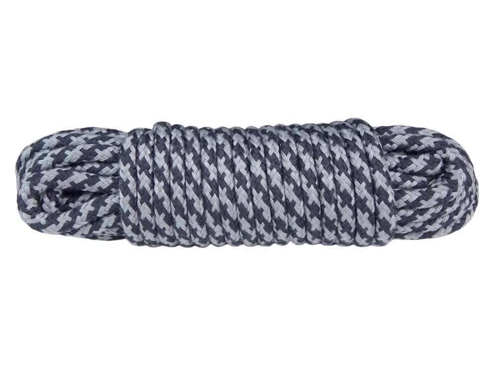 10m Bondageseil 2-farbig schwarz grau