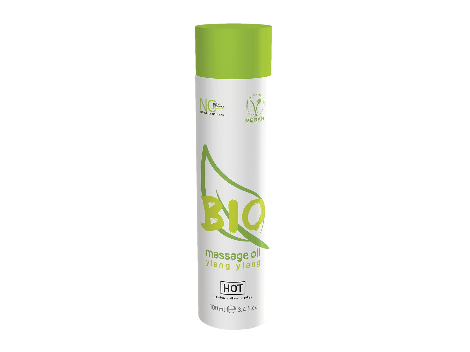 BIO Massageöl  Ylang-Ylang, vegan 100ml