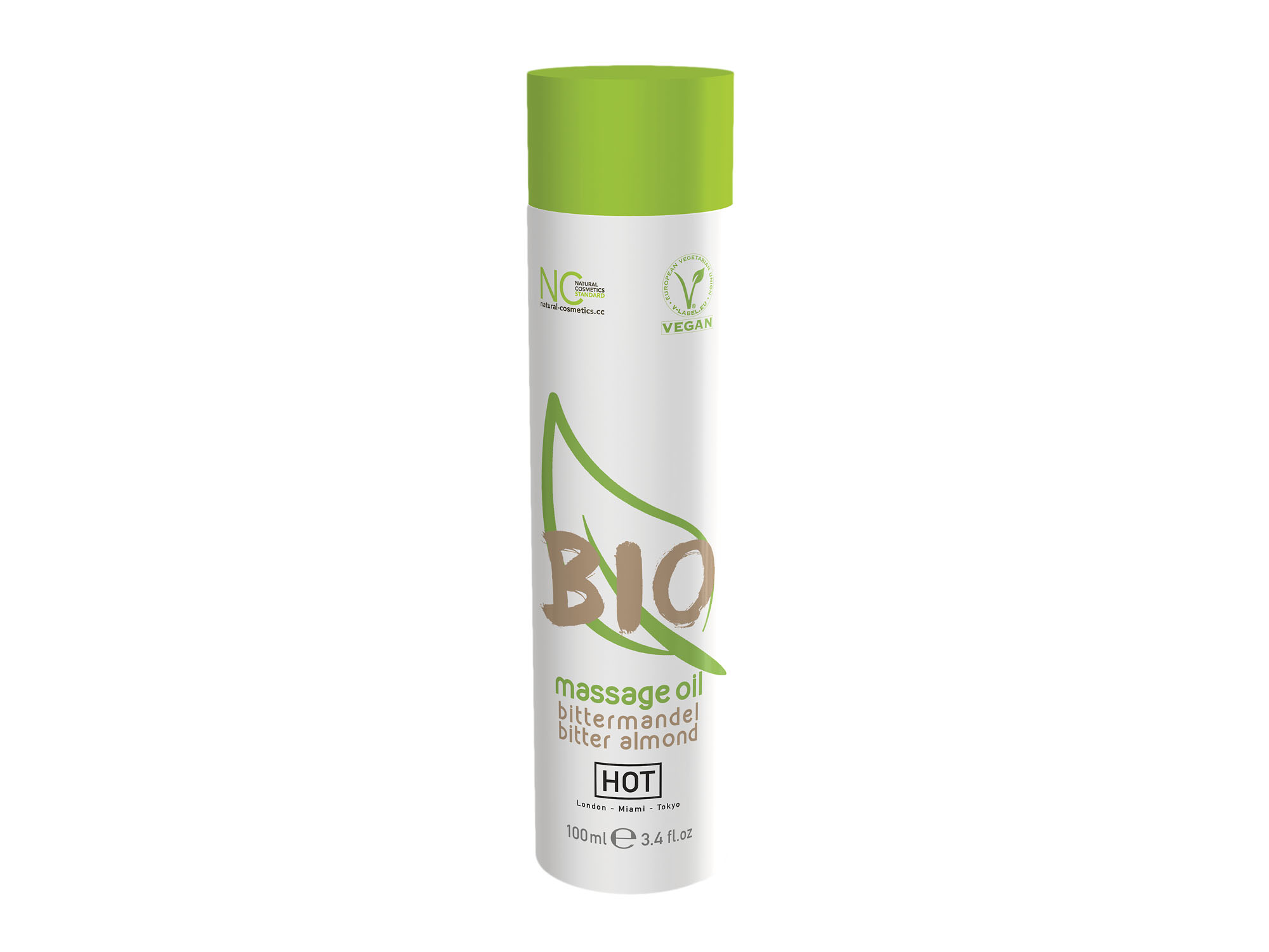 BIO Massageöl  Bittermandel, vegan 100ml