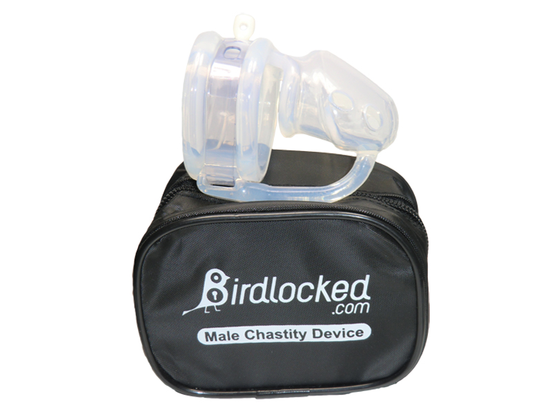 Birdlocked Mini 2nd skin Peniskäfig aus Silikon