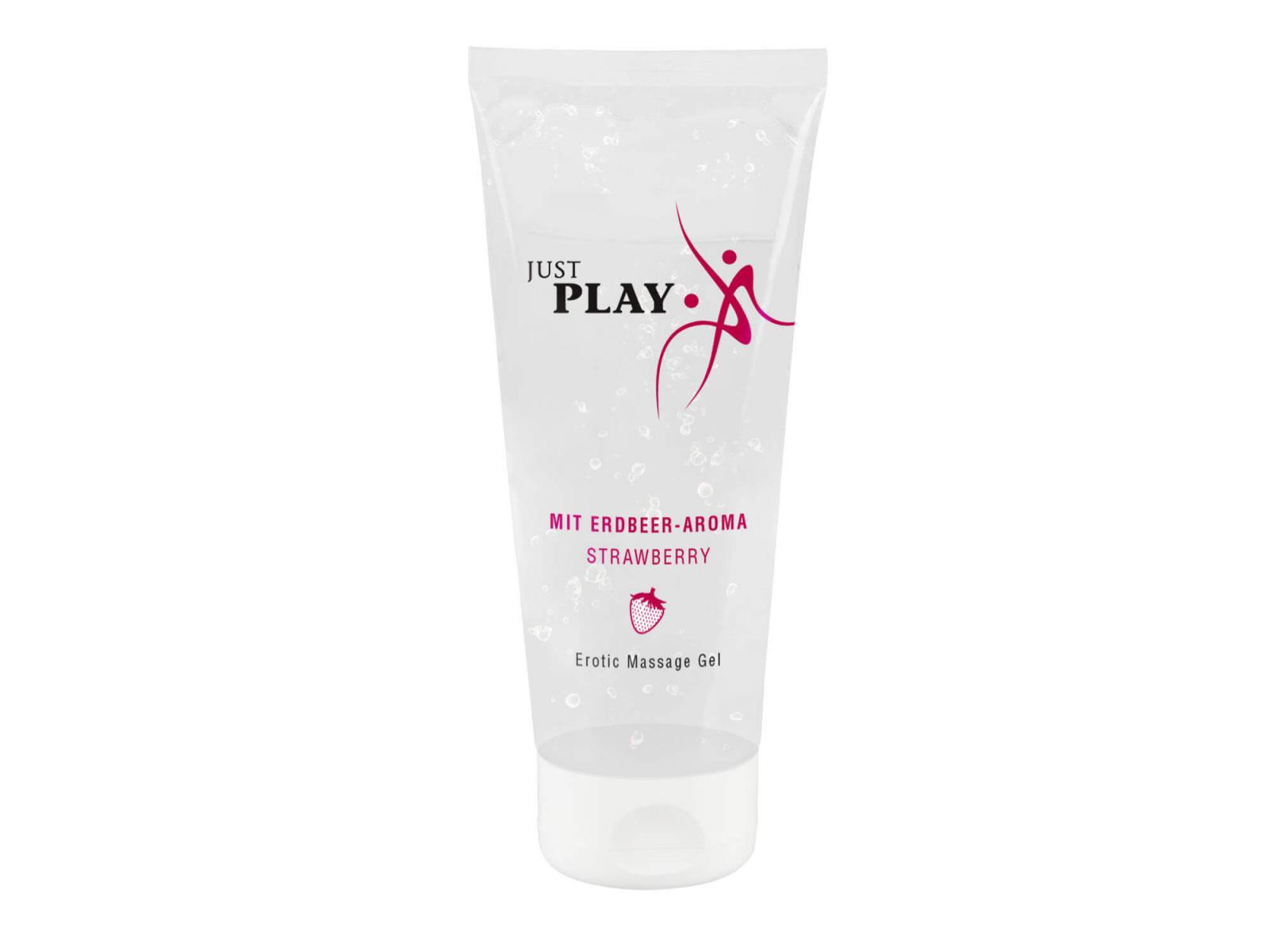 Just Play Erdbeere 200 ml Massage Gel
