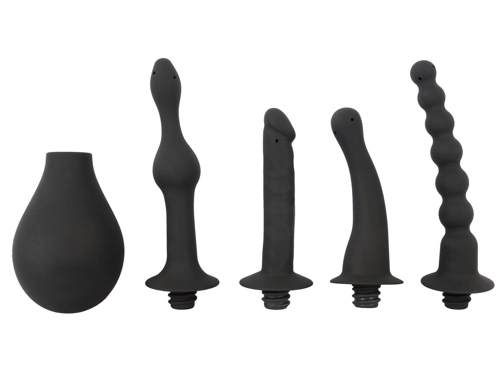 Black Velvets Douche with 4 Attachments 250ml