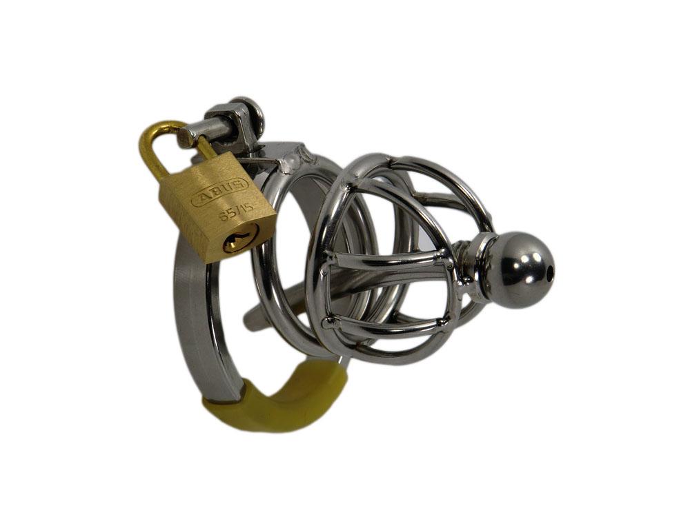 Ring Cage XXS Steel V1, mini Peniskäfig Edelstahl
