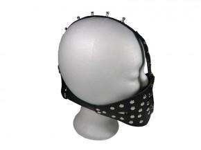 Bondage Harness NS-Knebel ( Ringknebel Öffnungsring Mundöffnungs-Knebel )