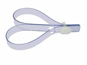 Verschluss-Stift + Verschluss-Band für BON4 und Birdlocked Keuschheitsgürtel Verschluß-band