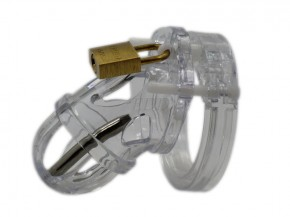 EDD MyCage Male Chastity Keuschheitsgürtel für Männer Peniskäfig mit Dilator (optional)